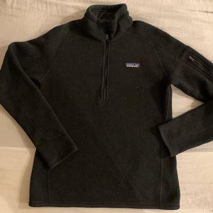 Women's black 1/4 Zip Patagonia Jacket for Sale in Philadelphia, PA