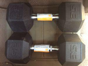 New 35lb Dumbbell Set for Sale in Douglasville, GA