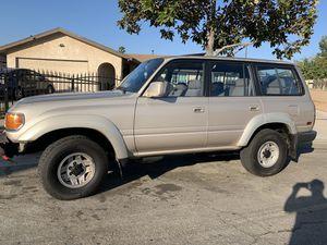 91 Toyota Land Cruiser for Sale in Fontana, CA
