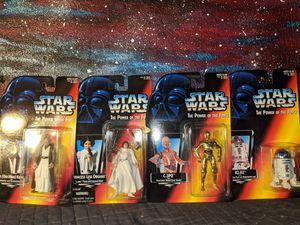 Vintage Kenner Star Wars Action Figures Lot New in Box Princess Leia Organa C3PO R2D2 Obi Wan Kenobi for Sale in Beaverton, OR