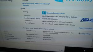 asus notebook for Sale in Riverview, MI