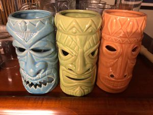 Set of 3 Tiki Tealight candle holders World Market for Sale in Columbus, OH