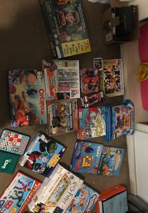 Games and puzzles $40 for Sale in Upland, CA