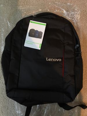 """Lenovo 15.6"""" laptop backpack for Sale in Maple Valley, WA"""