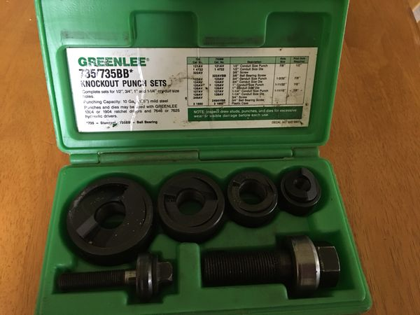 GREENLEE Hole Punch