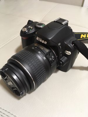 Nikon D40x camera for Sale in Seattle, WA