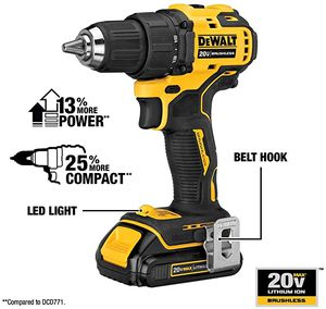 ATOMIC 20V MAX* BRUSHLESS COMPACT 1/2 IN. DRILL/DRIVER KIT for Sale in Downey, CA