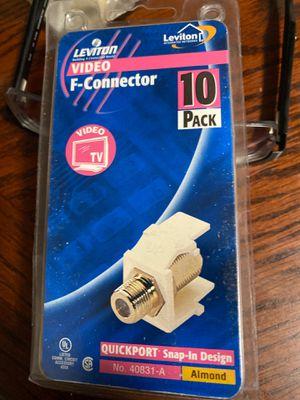 Video f-conector for Sale in Hemet, CA