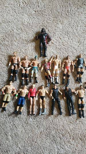 55 wwe action figures 15 broke 40 good condition for Sale in Gresham, OR