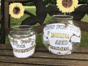 Wedding tip jars for Sale in Pine River, MN
