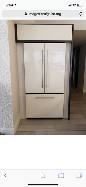Kitchen aid panel refrigerator built in for Sale in Delray Beach, FL