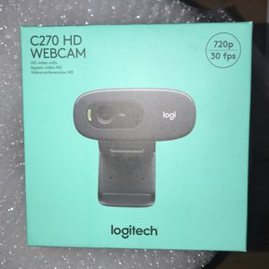 Logitech C270 HD Webcam 720p for Sale in Westminster, CA
