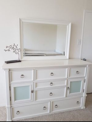 Dresser and mirror by Ashley furniture for Sale in Falls Church, VA