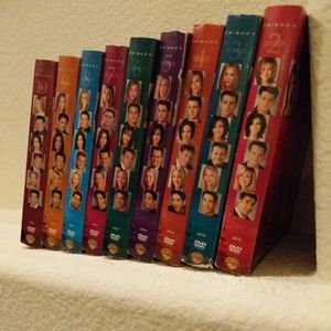 Friends Seasons 2 Through 10 $20 for Sale in Lincoln, CA