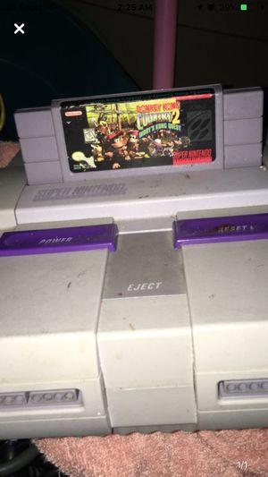 Super Nintendo and games for Sale in Stockton, CA