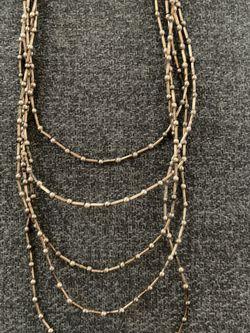 Liquid Silver Necklace / Vintage for Sale in Sacramento,  CA