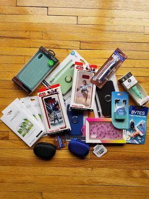 Mixed Lot Of Cell Phone Accessories 18 Items for Sale in Wall Township, NJ