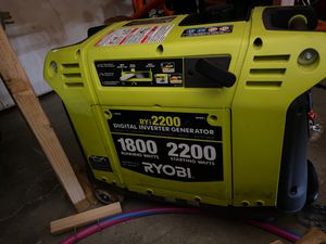 Ryobi 2200 investor Generator for Sale in Bothell, WA