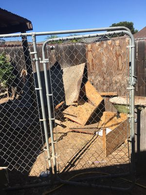 Chain link Fence With Gate for Sale in Santee, CA