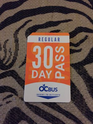 OCTA Regular 30 day bus pass for Sale in Anaheim, CA