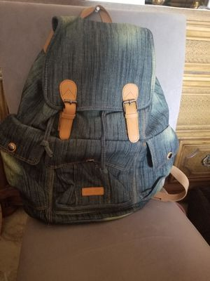 Denim backpack brand new for Sale in Miramar, FL
