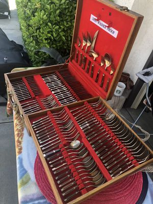 Vintage cutlery set 1900's for Sale in Palmdale, CA