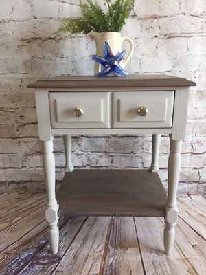 Farmhouse Side Table or Nightstand for Sale in East Wenatchee, WA