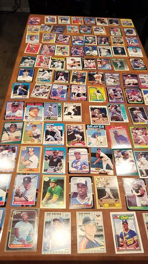 Over 100 rookie and star baseball cards.. quality is key for Sale in Scottsdale, AZ
