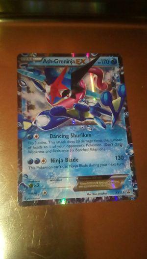 Pokemon collectable, Ash - Gerninja EX for Sale in Fontana, CA