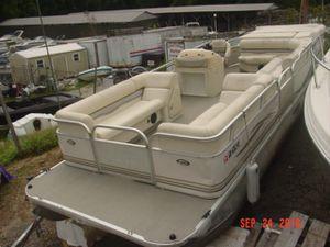 2001 monark sunspa 24-foot pontoon boat boat only no motor no trailer for Sale in Dawsonville, GA