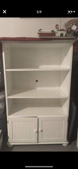 Cottage rustic style white Armoire for Sale in Temecula, CA