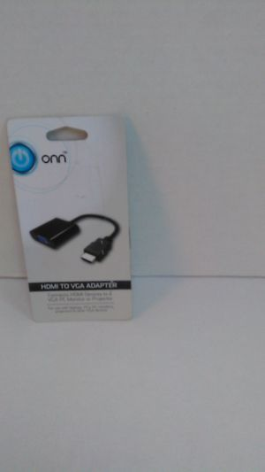 HDMI TO VGA ADAPTER ONN for Sale in St. Cloud, MN
