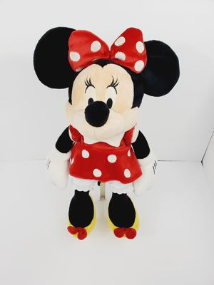 Disney Minnie Mouse 18'' Plush w Red Dress Stuffed Animal Doll Toy Kid for Sale in Queens, NY