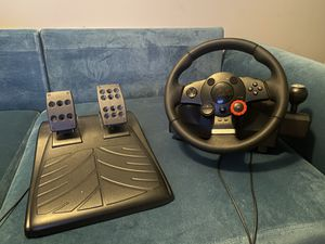 Logitech Driving Force GT Racing Wheel for Sale in Norcross, GA