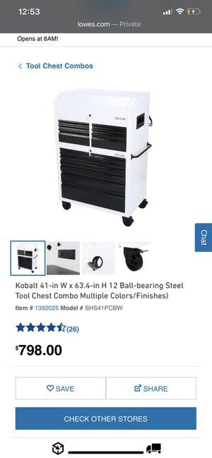 Kobalt Tool Chest Combo for Sale in Diamond Bar, CA
