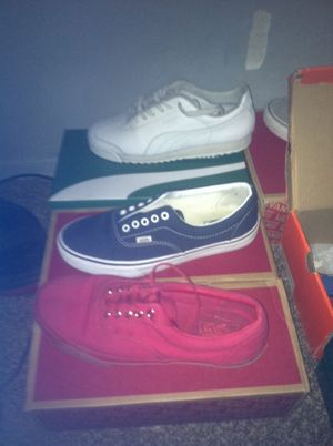 vans and pumas for Sale in San Diego, CA