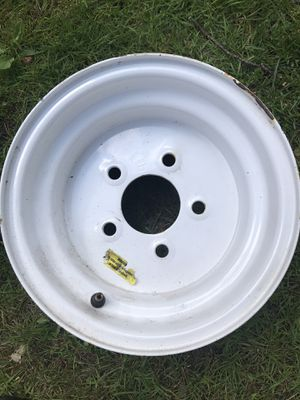 Trailer tire rim for Sale in Ballston Spa, NY
