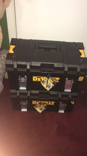 2 new Dewalt tool boxes for Sale in Chevy Chase, MD