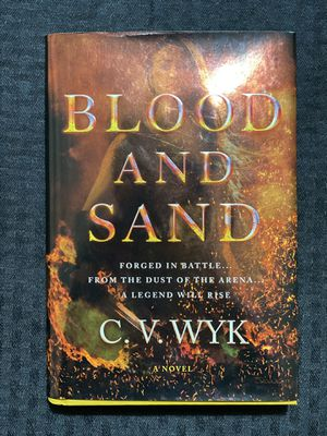 Barnes and Noble Blood And Sand Novel for Sale in Columbia, SC