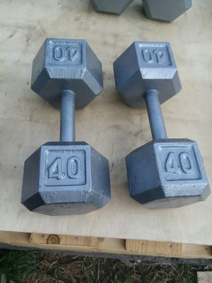 40Lb Hex Dumbbells. $50 Firm for Sale in Compton, CA
