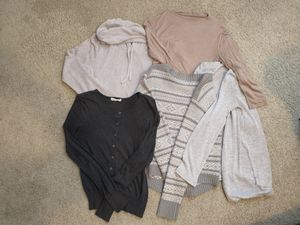 Sweaters and cardigans sale!! for Sale in Lynnwood, WA