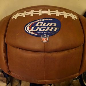 Budlight Football Chair And Cooler for Sale in Portland, OR