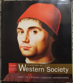 A History of Western Society Vol 1: From Antiquity to the Enlightenment for Sale in Buena Park, CA