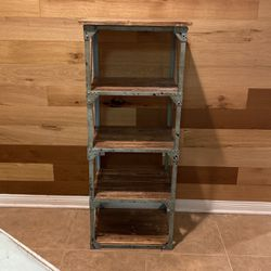 Wood & Metal Rustic Shelf Unit for Sale in Los Angeles,  CA