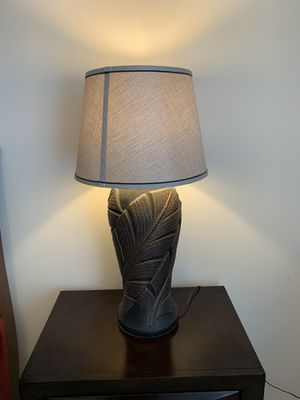 Antique Table Lamp with Bulb for Sale in Chicago, IL