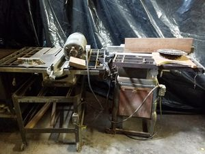 2 vintage Craftsman table saws heavy duty for Sale in Portland, OR