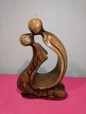 Hand-carved wooden statue vintage for Sale in New Bedford, MA