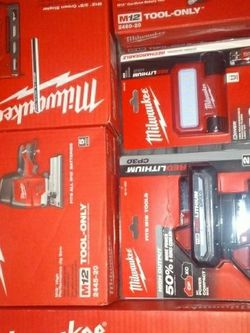 Milwaukee M12 Tools and Batteries- $600 for Sale in Tacoma,  WA