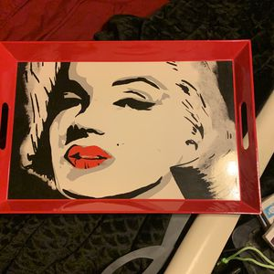 Marilyn Monroe Serving Tray for Sale in Highland, CA