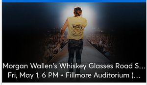 2 GA Morgan Wallen concert tickets for Sale in Thornton, CO